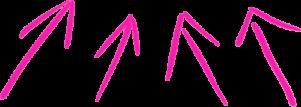 pink-arrows